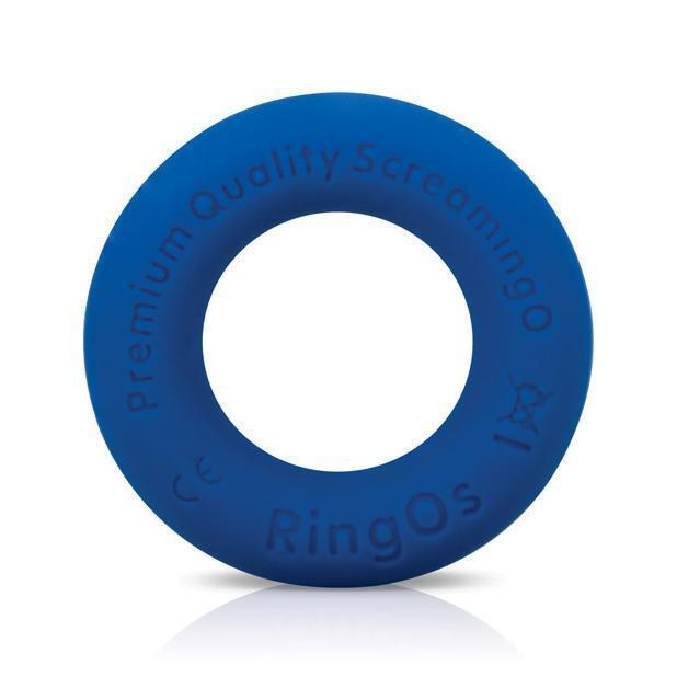 TheScreamingO - RingO Ritz Soft Silicone Cock Ring (Blue) Silicone Cock Ring (Non Vibration) Singapore
