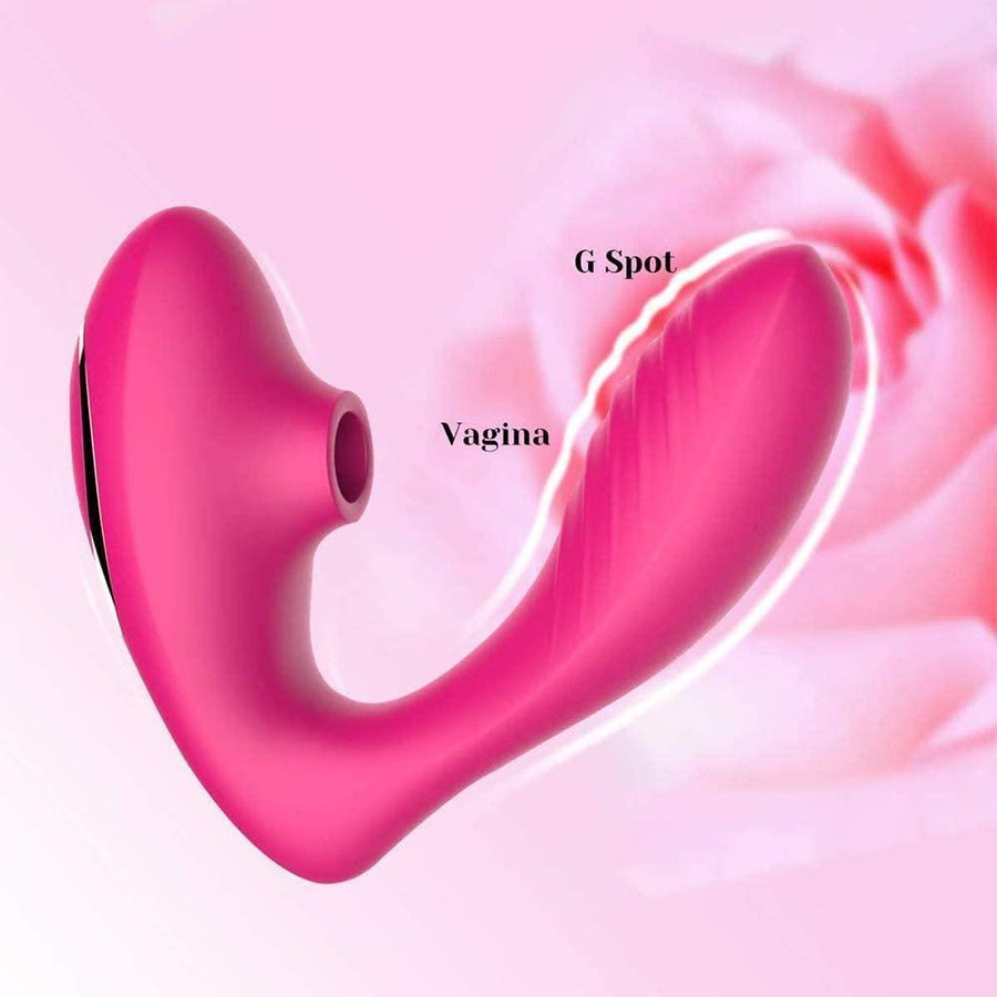 Tracy's Dog - Clitoral Sucking Vibrator (Pink)
