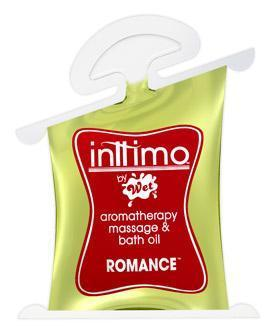 Wet - Inttimo Romance Aromatherapy Massage Oil 10ml (Yellow)