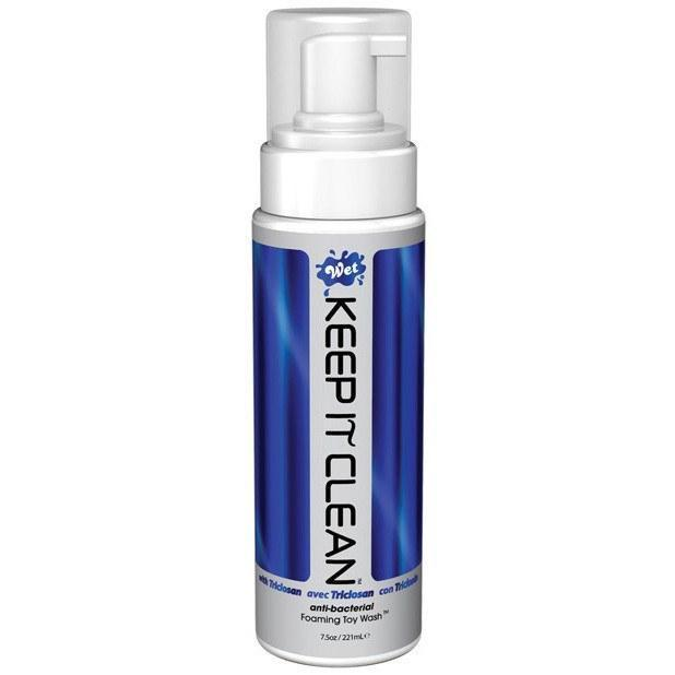 Wet - Keep it Clean Toy Wash 8 oz (Blue)
