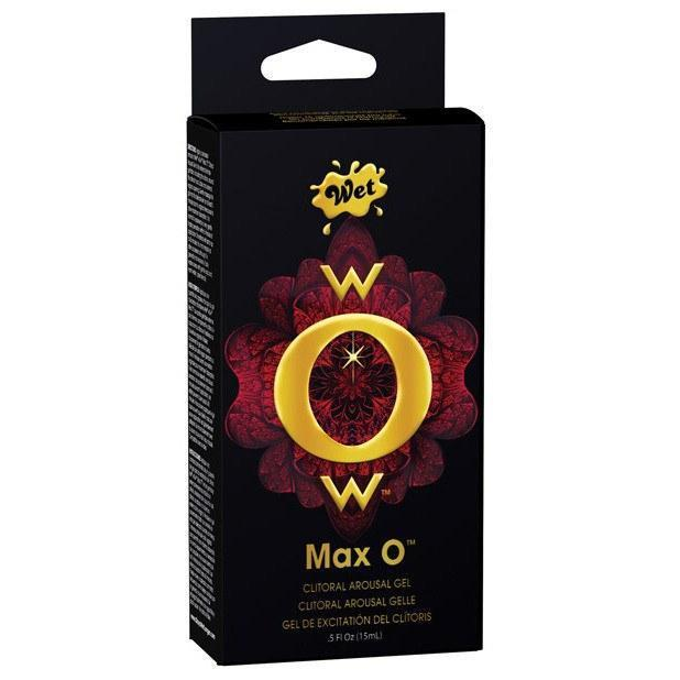 Wet - WOW Max 0.5 oz (Black) Arousal Gel - CherryAffairs Singapore