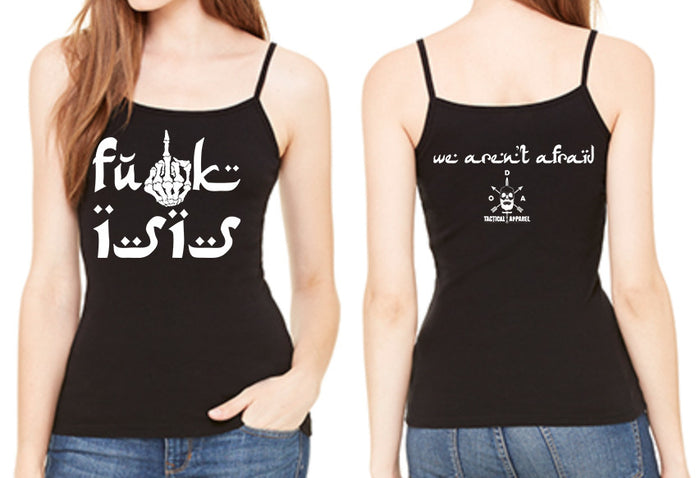 Fuck ISIS Ladies Tank