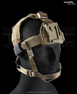 Wilcox L4 NVG Skull Lock Lite Head Mount Lightweight, Low-Profile NVG Platform