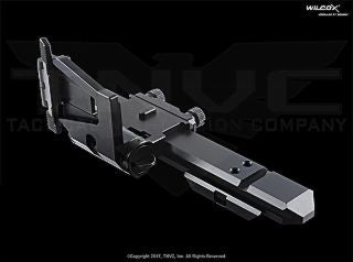 Wilcox Flip Mount w/ Riser System for EOTech EOTech XPS Riser Flip Mount System