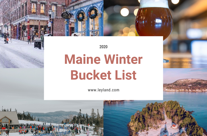Our Maine Winter Bucket List