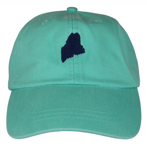 State of Maine Hat on Sea Foam