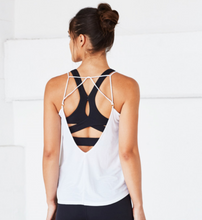 Breeze Strappy Tank, Black