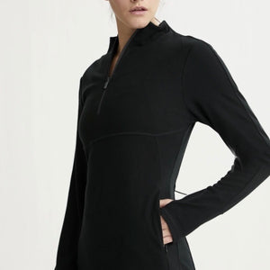 Formosa Half Zip - Black