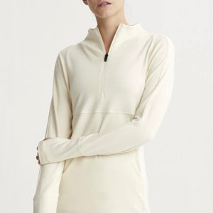 Formosa Half Zip - Bone White