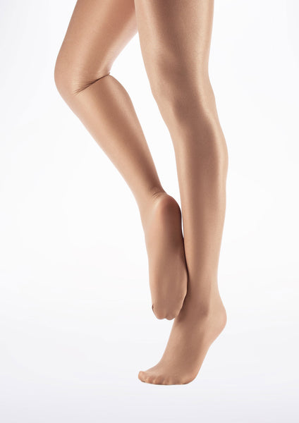 1808 Ultra Shimmery Footed Tights by Capezio