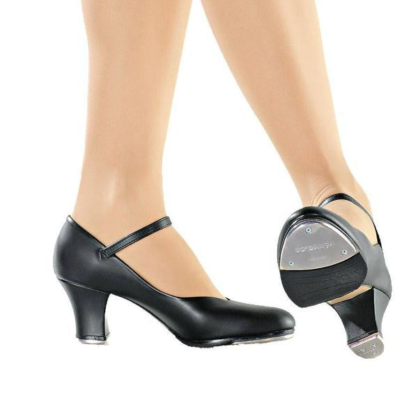 "TA57 Tiffany 2"" Heel Character Tap Shoe by SoDanca"