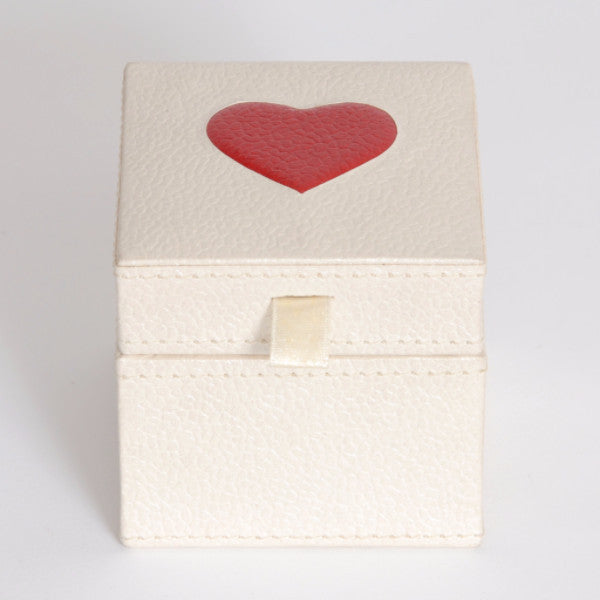 Recycled Cotton Heart Box - Arcadia Home