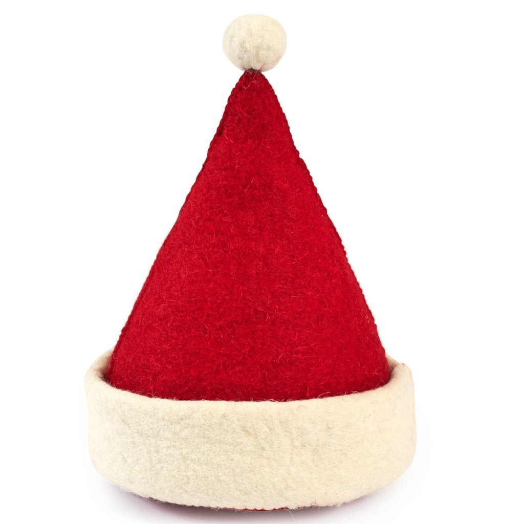 Santa Hat Christmas Door Stop - Arcadia Home