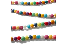 Hand Felted Wool Christmas Garland - Multicolor Balls - 6' - Arcadia Home