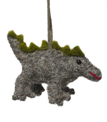 Stegosaurus Christmas ornament - Arcadia Home