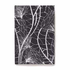 Recycled Cotton Journal in Black Beach Grass- 4