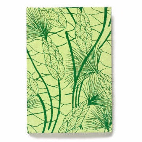 Recycled Cotton Journal in Green Beach Grass- 4