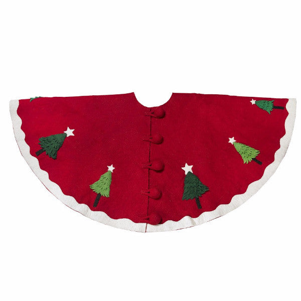 Multitree Christmas Tree Skirt - Arcadia Home
