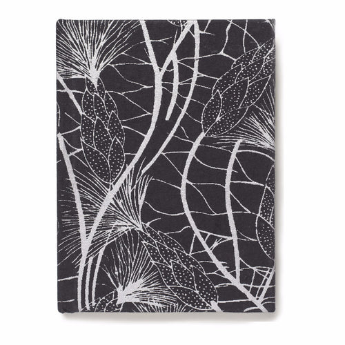 Recycled Cotton Journal in Black Beach Grass- 6