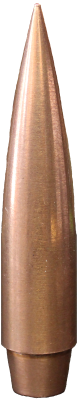 .375 Caliber 350 Grain Solid Copper