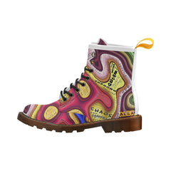 Chaos - Martens Leather-  Women's Boots