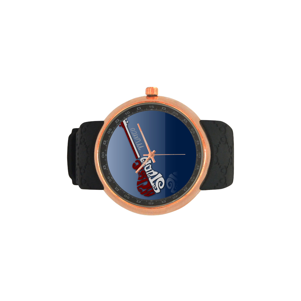 Red Guitar  -  Men's Watch
