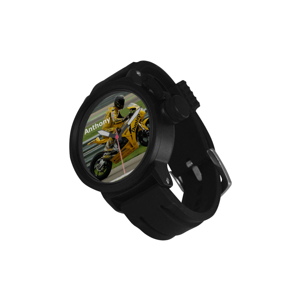 Motorcycle - Men's Sport Watch