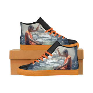 Ancient-River - Aquila High Top Action Leather Women's Shoes