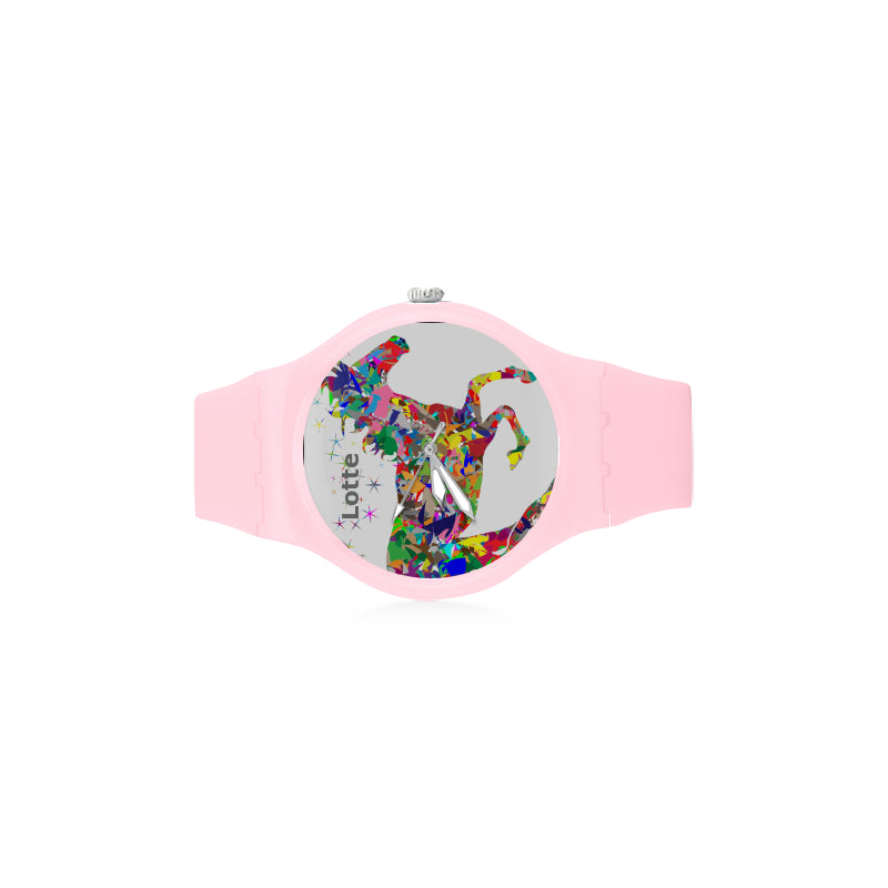 Colorful-Horse-Women-PINK Watch