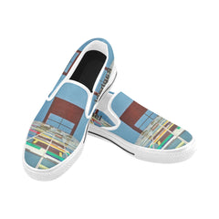 Shoes - Square kids Slip-on