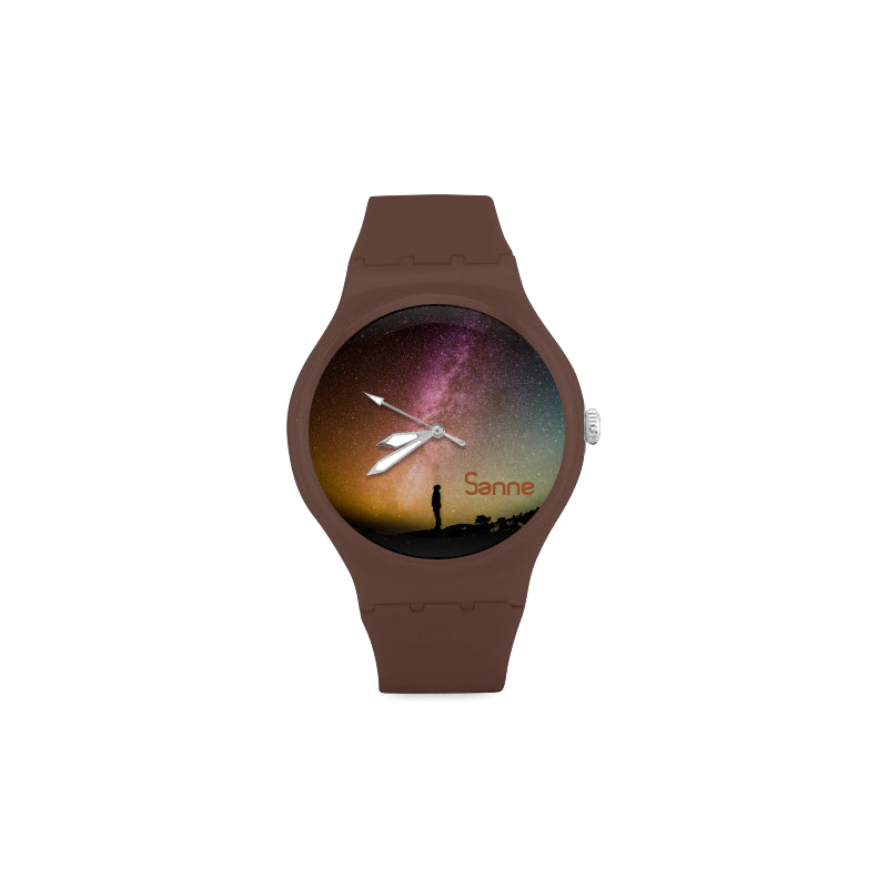 Northern Lights - Sky -Women-BROWN Watch