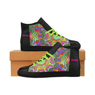 Colors - Colors - WOMEN  - Aquila High Top Action Leather