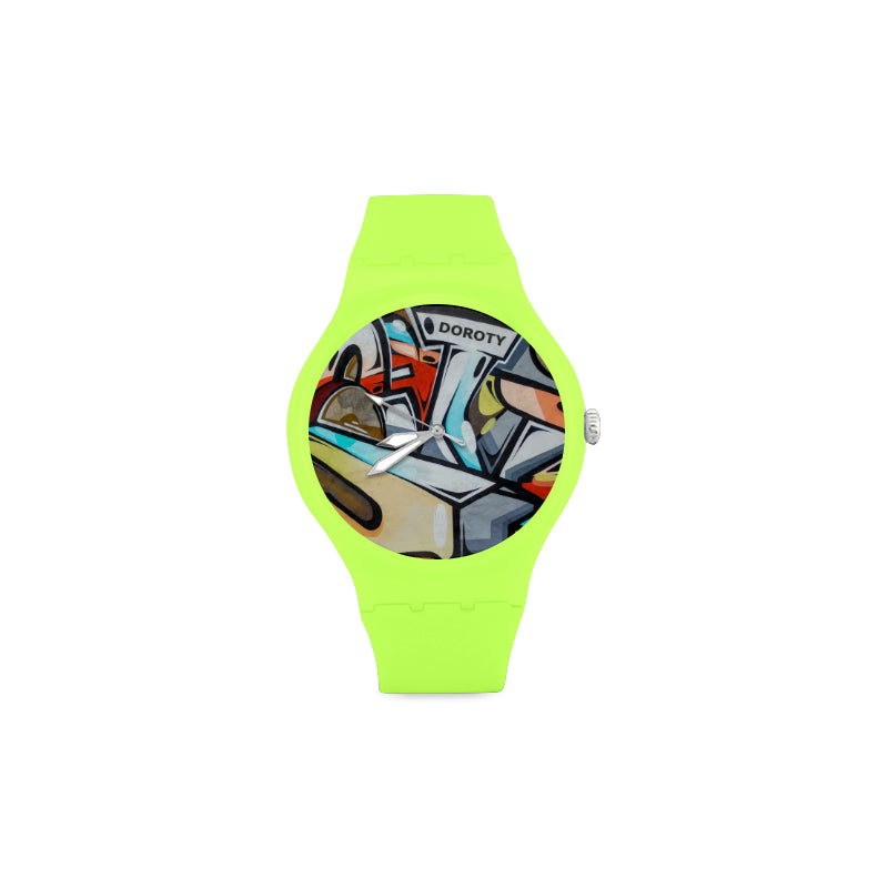 GRAFFITI-Wall-Women-GREEN LIGHT  Watch