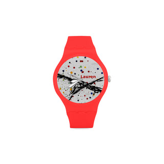 Art-Paint-Women-RED Watch