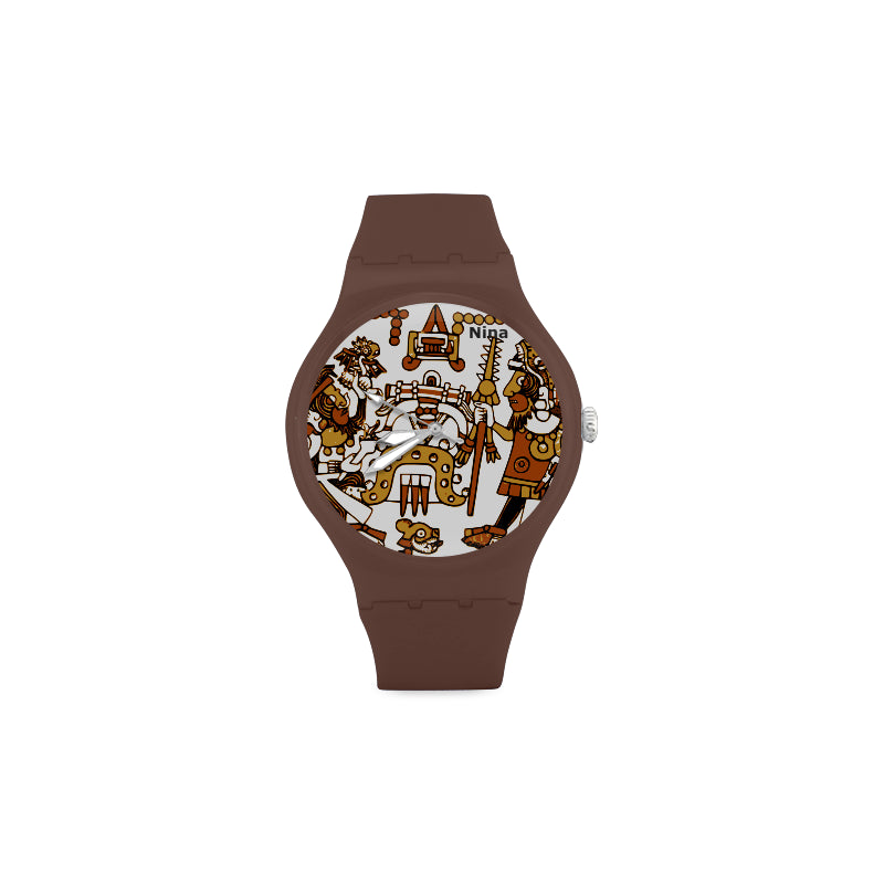 Aztec-Toltec-Women-BROWN Watch