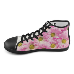 Pink Shoes - KIDS - High Top Canvas