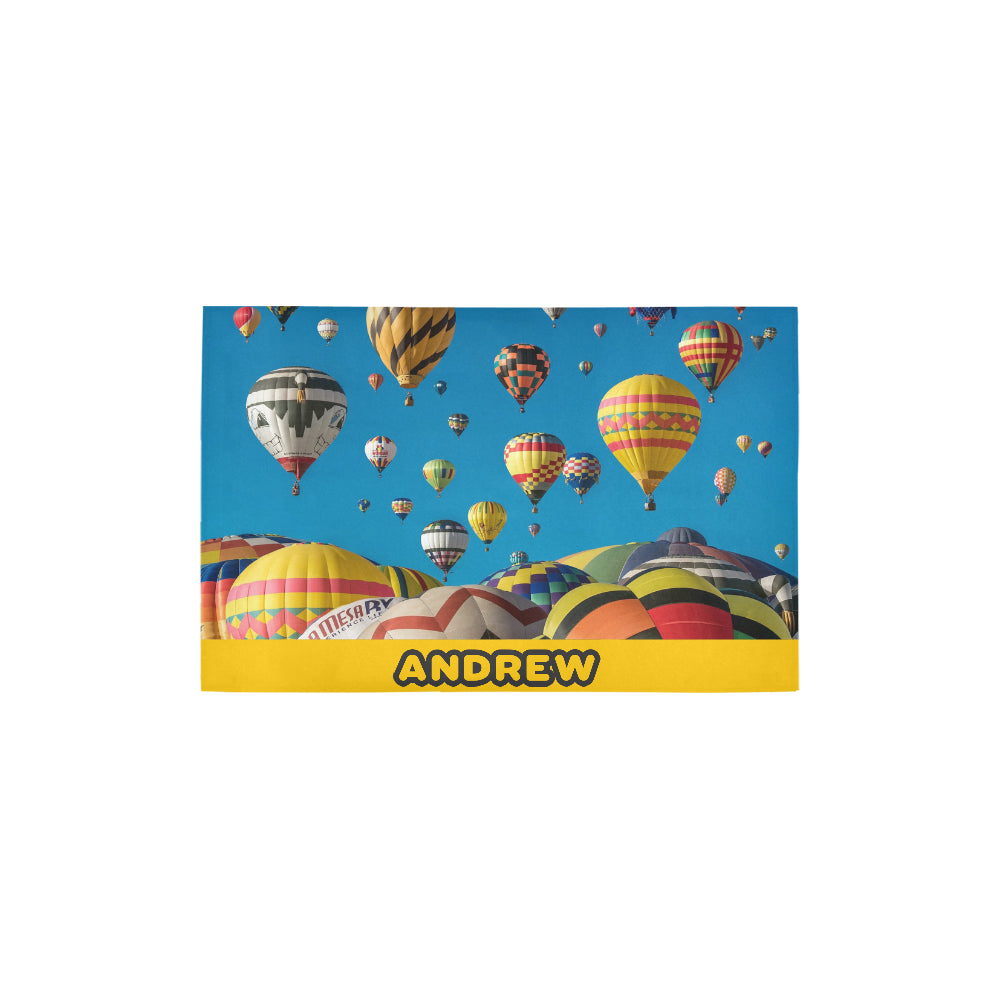 "Hot Air Ballon - Area Rug 2'7""x 1'8''"