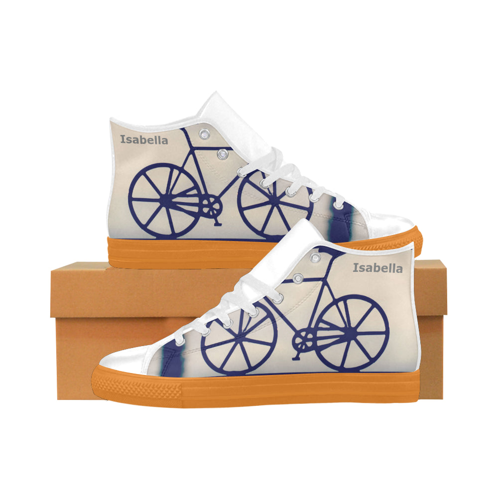 ride-women Aquila High Top Action Leather Women's Shoes (Model032)
