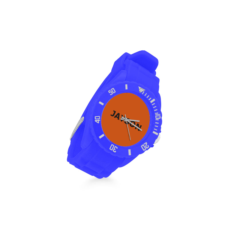 BLUE- ORANGE - Kids -Sport Watch