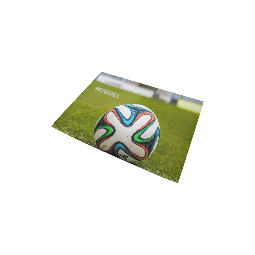 "The-Ball-Stadion-Football - Area Rug 2'7""x 1'8''"