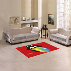 "Rainbow - Area Rug 2'7""x 1'8'' - Kids - Boy - Girl"