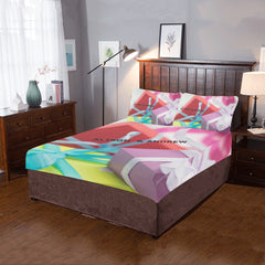 Christmas-Gifts-Presents 3-Piece Bedding Set (One Side)