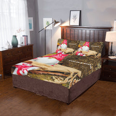 Christmas - Gift - 3-Piece Bedding Set (One Side)