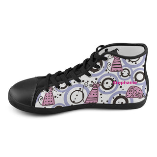 Animal cats circles - Women Shoes - Personalize with your name!