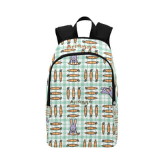 Backpack - Animal rabbit carrots Casual