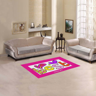 "Kids - Area Rug 2'7""x 1'8'' - Girl - Decoration Area Rug - *Special Offer*"