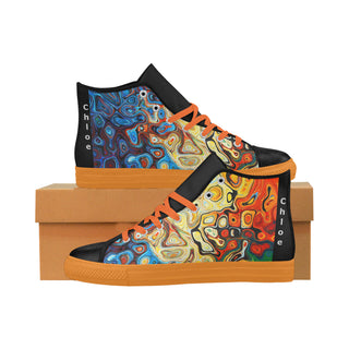 Multicolor-Women Aquila High Top Action Leather