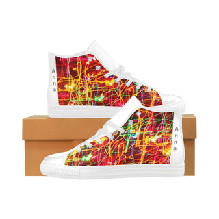 Light-Creative-Style - Women Aquila High Top Action Leather