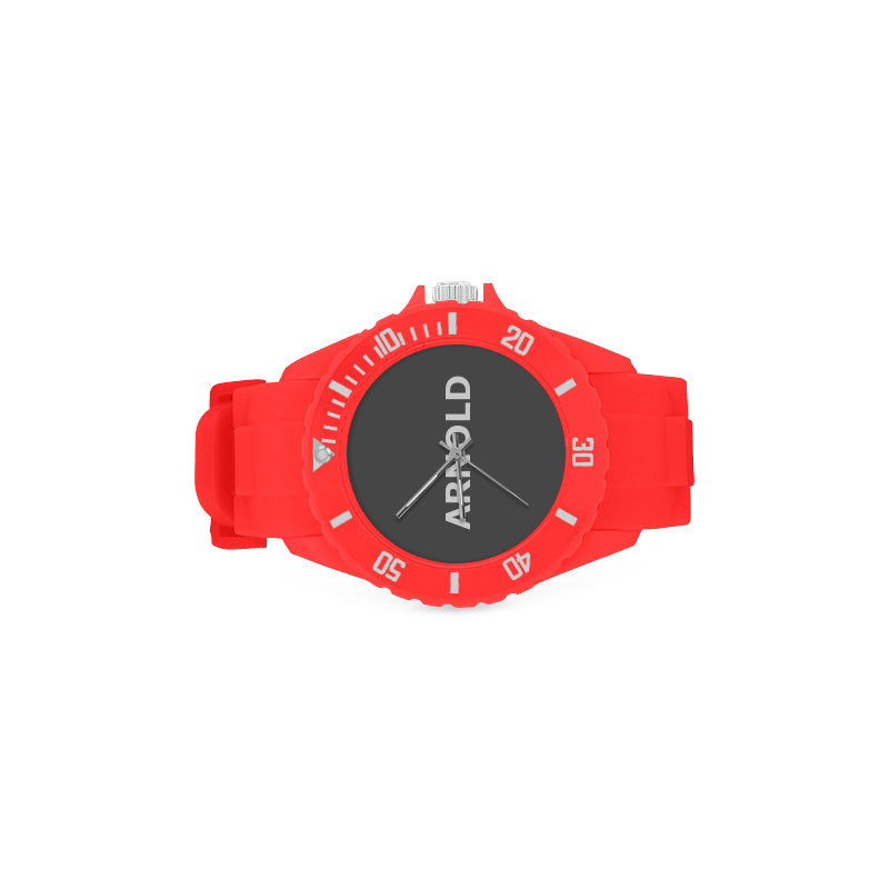 RED AND BLACK - KIDS - Sport Watch