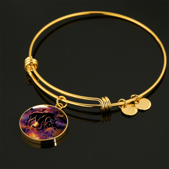 Circle (Gold) - Adjustable Bangle (Necklace variant) - Tauro